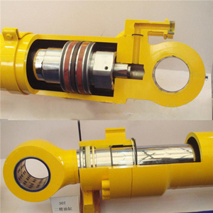 Hydraulic cylinder dust seal installation methods which